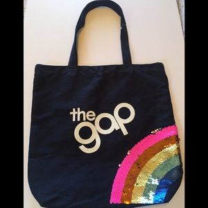 Gap Kids Flippy Sequins Logo Tote NWOT